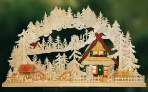 3D-Schwibbogen gr., Winterurlaub Größe 72 x 43 cm (BxH)