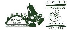 Holzkunst Shop: Weihnachstdeko & Holzkunst aus dem Erzgebirge - RATAGS-Logo